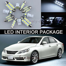 White LED Lights Interior kit Package FOR 2004 2015 Subaru Impreza WRX STI