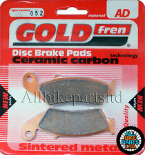 Honda RVF 750 Rear Sintered Brake Pads 1997 - Goldfren - RVF750 RVF-750