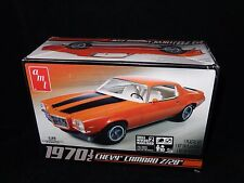 AMT 1970 1/2 Chevy Camaro Z28 1/25 Scale Plastic Model Car Kit 635