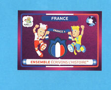 PANINI-EURO 2012-Figurina n.44- FRANCIA -NEW-DARK BOARD