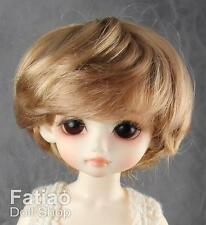 "Fatiao - New Yo-SD 1/6 BJD Dollfie Dolls Wig 6-7"" - Baby Brown color"