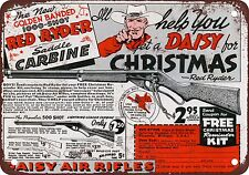 1940 Daisy Red Rider BB Gun Vintage Look Reproduction Metal Sign