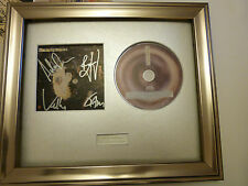 SIGNED/AUTOGRAPHED STEREOPHONICS-GRAFFITI ON THE TRAIN FRAMED PRESENTATION. RARE