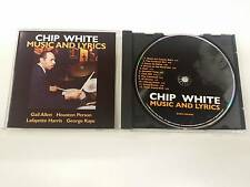 CHIP WHITE MUSIC AND LYRICS DARK COLORS CD 2005