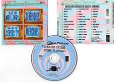LES MEILLEURS GENERIQUES DES SERIES TV AMERICAINES / TV TOONS (CD BOF/OST) 2001