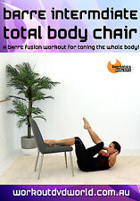 Toning Exercise DVD - Barlates Body Blitz BARRE INTERMEDIATE TOTAL BODY CHAIR
