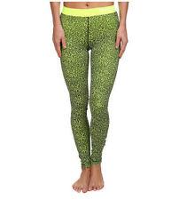 Women's Nike Pro Mezzo Leggings Pants Volt Size Small 744839 702 NWT