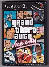 Grand Theft Auto: Vice City [Playstation 2 PS2 GTA Shooting Driving] Brand NEW