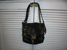 Fossil Black Leather Crossbody/Shoulder bag