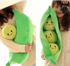 "SNSD GIRLS' GENERATION favorite toy 3 Peas in a Pod plush Pillow Large Size 32""L"
