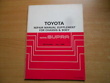 Repair manual suplemento toyota supra ma70 04.1986 brm036e