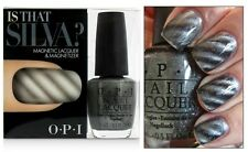 OPI SKYFALL ~Is That Silva?~ MAGNETIC Gunmetal Grey Nail Polish Lacquer Set D40
