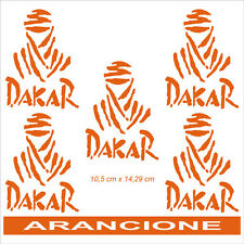 Adesivo Logo Paris Dakar arancione - adesivi/adhesives/stickers/decal
