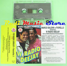 MC MARCO BALDINI FIORELLO W RADIO DEEJAY compilation 1 italy MC FRI 16001 no cd