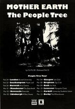 """NEWSPAPER CLIPPING/ADVERT 26/2/94PGN34 ALBUM 7X5"""" MOTHER EARTH : THE PEOPLE TREE"""