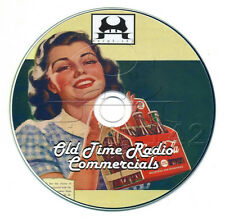 Collection of 117 Radio Commercials - Old Time Radio (OTR) mp3 CD