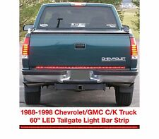 "60"" LED Tailgate Light Bar Strip For 1988-1998 Chevrolet/GMC Truck New Free Ship"