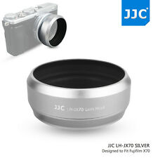 JJC Metal Lens Hood for Fujifilm X70 X100S X100T and 49mm Adapter Ring as LH-X70