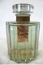 RARE FLACON FACTICE GEANT « SORTILEGE » DE LE GALION / 17 cm DE HAUT !
