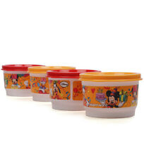 Tupperware Disney snack cups - Set of 4-  Birhtday Special - Limited Edition