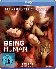 2 Blu-rays * BEING HUMAN - STAFFEL / SEASON 2 # NEU OVP $