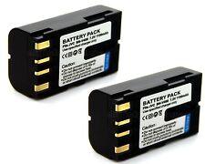 2x 7.2v Battery for BN-V408 JVC GY-HD100 U GY-HD101E GY-HD110 GY-HD110U GY-HD111
