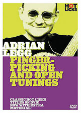 ADRIAN LEGG FINGER-PICKING & OPEN TUNINGS GUITAR DVD