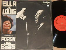 ELLA UND LOUIS -Singen aus Porgy And Bess- LP Phonoclub Amiga DDR