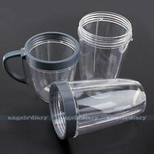 3pc/Set Quality Mugs Replacement Cups Spare Parts For Blender Mixer Juicer New