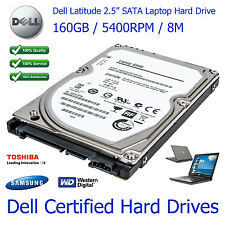 "160 GB de Dell Latitude D820 de 2,5 ""SATA Laptop En Disco Duro Upgrade-Nueva Leer Anuncio"