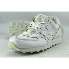 New Balance M574 Men US 8.5 White Fashion Sneakers Pre Owned  1786