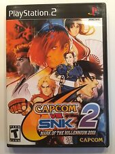 Capcom vs SNK 2 - Playstation 2 - Replacement Case - No Game