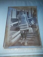 """Press Release Photo of VIRNA LISI -Dated 1967 Measures approx 10"""" X 7 1/2"""""""