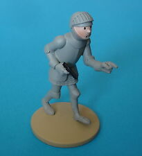 FIGURINE COLLECTION OFFICIELLE TINTIN N°49 TINTIN EN ARMURE NEUF + LIVRET PASS