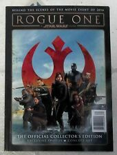ROGUE ONE Star Wars Story OFFICIAL COLLECTORs EDITION Exclusive Photos RED COVER