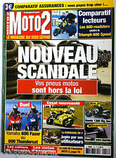 MOTO 2 n°157 du 1/2003; Les 600 Roadsters contre Triumph 600 Speed/ HOnda 1300 B