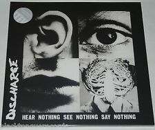 Discharge Hear Nothing See Nothing Say Nothing LP LTD CLEAR Vinyl 23 Track * NEW