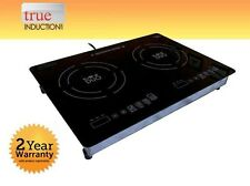 Cooktop True Induction MD-2B * Mini Duo * Double Burner Cook top * Counter Inset