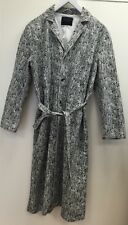 Wood Wood Trench Robe Lab Coat Chevron Jacket Small Mint