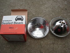 "7"" SEALED BEAM HEADLIGHT UNIT FOR CLASSIC CAR SB7014 RHD Triumph MG Mini Etc"