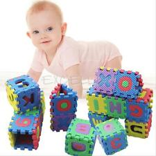 36PCS/Set Alphabet Numerals Baby Kids Play Mat Educational Toy Soft Foam Mats