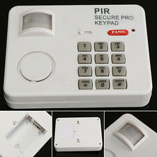 For Home Door Garage Shed PIR Wireless Motion Sensor Alarm With Security Keypad