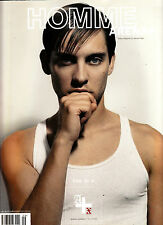 ARENA HOMME PLUS #20 TOBEY MAGUIRE Mark Gonzales HANNELORE KNUTS Julie Henderson