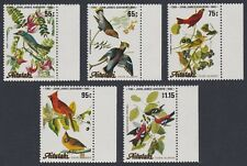 Aitutaki Birds Birth Bicentenary of J.J. Audubon 5v with margins SG#518/22