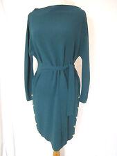 Diane Von Furstenberg HENNA Emerald Green Mod Retro Dress Size P Sold Out