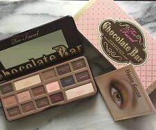 TOO FACED CHOCOLATE BAR EYESHADOW  -    just divine  CHOCOLATE smell