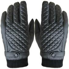 new comfortable Men Thermal Winter Motorcycle Sports Leather Touch Screen Gloves
