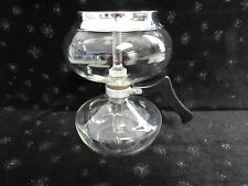c40's VTG SUNBEAM GLASS DRIPOLATOR COFFEE POT STOVE TOP 4 CUP CORNING GLASS ROD
