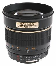 Samyang 85mm f1.4 as if mc para Samsung NX-liquidación | UE comerciantes |