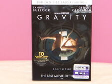 Gravity DVD, 2013, Special Edition - 2-Disc Set With Digital Ultraviolet Sealed